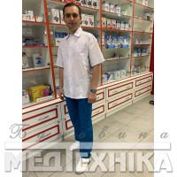 Костюм медичний чоловічий КЛАСИК з Тонкої тканини