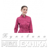 Халат медичний жіночий 103 Рожевий Розпродаж