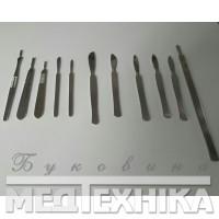 Скальпеля, ручки, леза