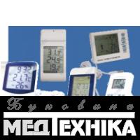 Цифрові термогігрометри
